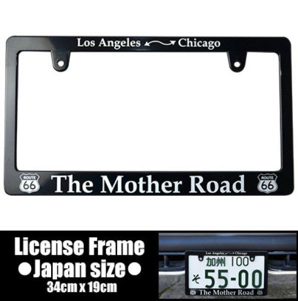 画像1: ライセンスフレーム /  MOTHER ROAD / 日本サイズ (1)