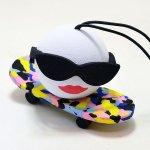 """画像2: アンテナトッパー / Skater """"Color"""" Board Chick (2)"""