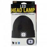 画像1: ユニセックス LED ヘッドライト ビーニー (1)