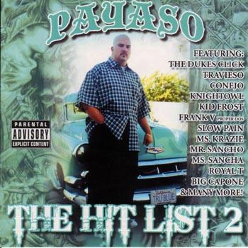 画像1: PAYASO / THE HIT LIST 2 (1)