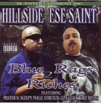 画像1: HILLSIDE & ESE SAINT / BLUE RAGS 2 RICHES (1)