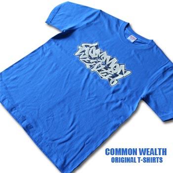 画像1: T-SHIRTS / COMMONWEALTH / BLUE (1)