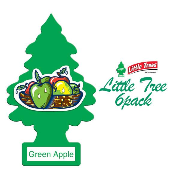 画像1: A/F LITTLE TREE / グリーンアップル6枚パック (1)