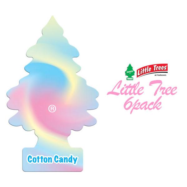 画像1: A/F LITTLE TREE / コットンキャンディー6枚パック (1)