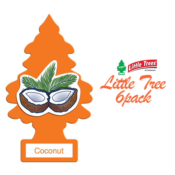 画像1: A/F LITTLE TREE / ココナッツ6枚パック (1)