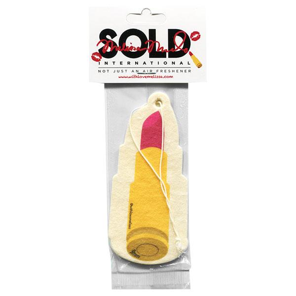 画像1: エアーフレッシュナー / SOLD / MM Lipstick Gold (1)