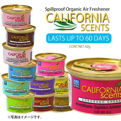 画像1: 【新しい香り入荷です】【全25種類】エアーフレッシュナー / CALIFORNIA SCENTS シリーズ (1)