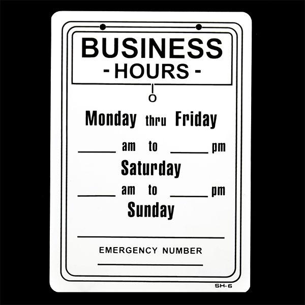 画像1: 【営業時間】BUSINESS HOURS / WEEKLY (1)