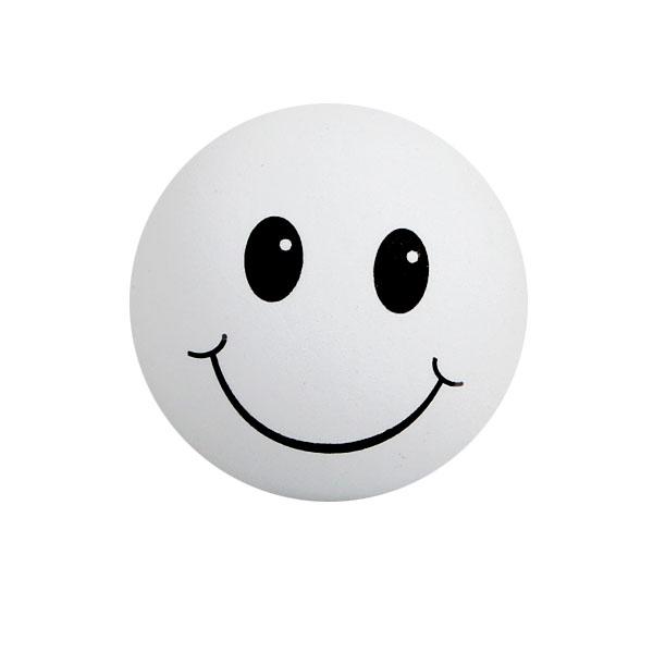 画像1: アンテナトッパー / HAPPY FACE / WHITE (1)