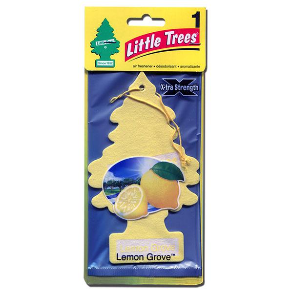 画像1: 【BIG サイズ! 】エアーフレッシュナー / LITTLE TREE X-TRA / レモングローブ (1)