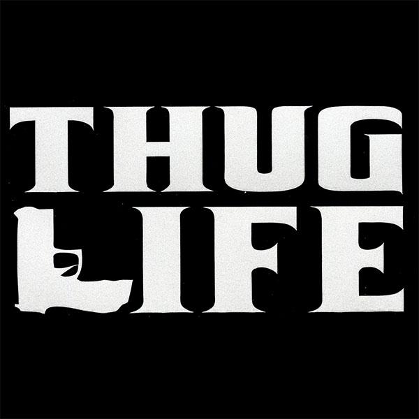 画像1: ステッカー / THUG LIFE (1)