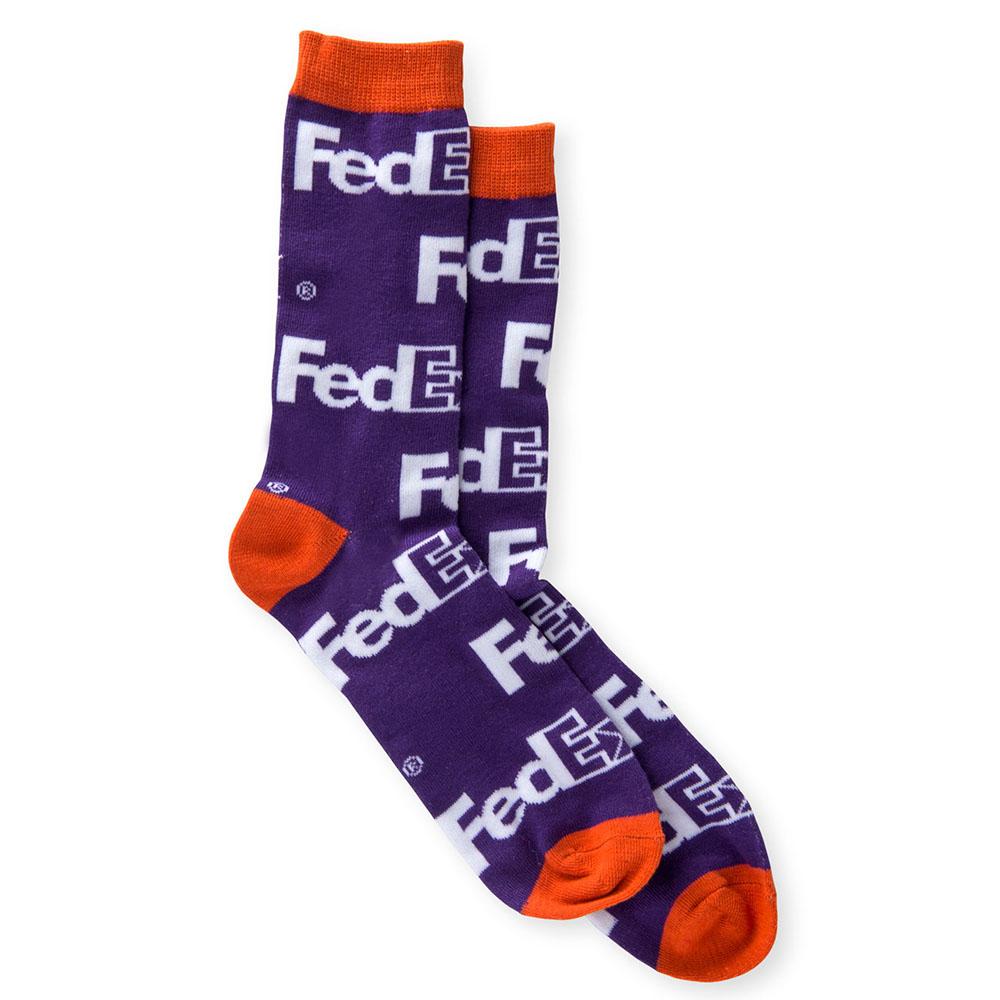 画像1: FedEx ハイソックス (1)