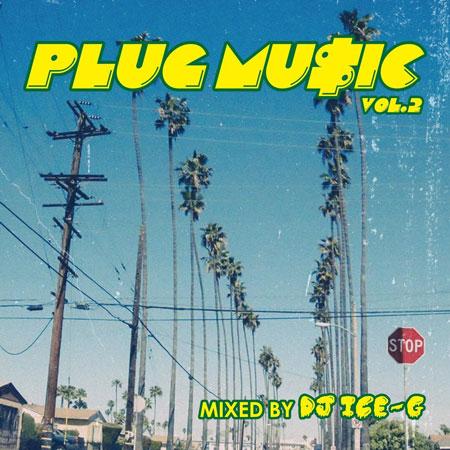 画像1: DJ ICE-G / PLUG MUSIC VOL.2 (1)