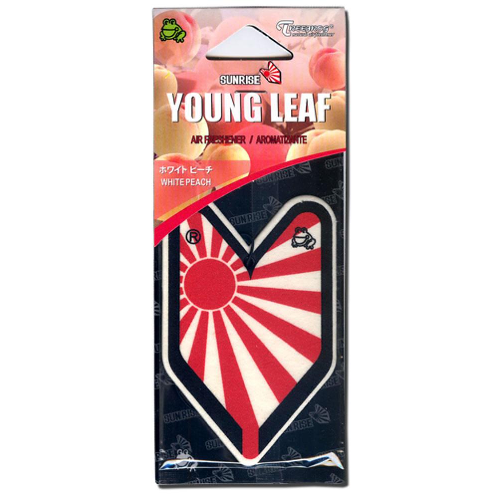 画像1: エアーフレッシュナー / YOUNG LEAF / White Peach (1)
