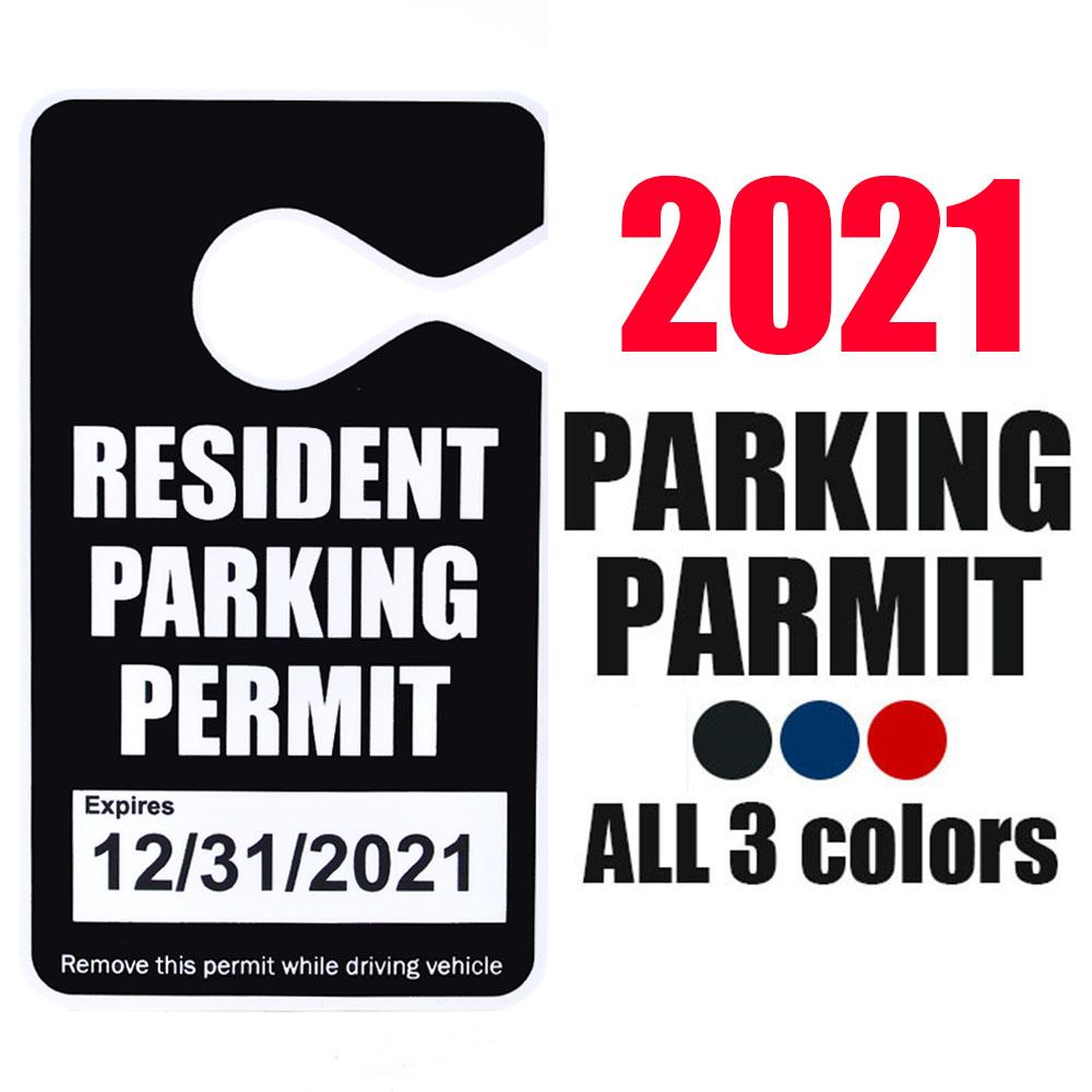 画像1: 【2021年】パーキングパーミット / RESIDENT PARKING (1)