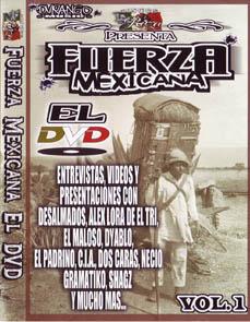 画像1: FUERZA MEXICANA EL DVD (1)