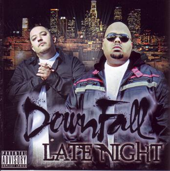 画像1: DOWN FALL / LATE NIGHT (1)