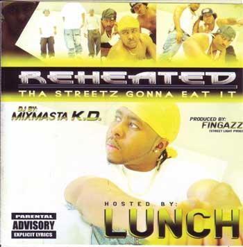 画像1: LUNCH / REHEATED / THE STREETZ GONNA EAT IT (1)