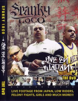画像1: SPANKY LOCO  / LIVE EN JAPAN THE DVD (1)
