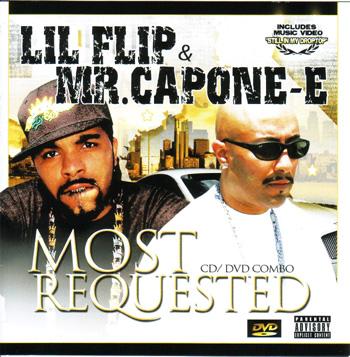 画像1: LIL FLIP & MR.CAPONE-E  / MOST REQUESTED -CD & DVD 2枚組- (1)